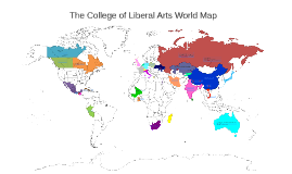 College of Liberal Arts Map: Where Will Your Major Take You?
