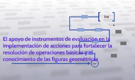 El apoyo de instrumentos de evaluación en la