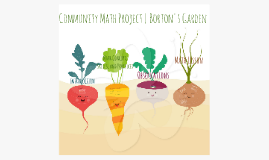 Community Math Project | Borton's Garden