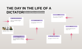 THE DAY IN THE LIFE OF A DICTATOR!!!!!!!!!!!!!!!!!!
