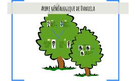 Arbre généalogique de Daniela