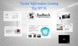 Welcome Pre-Dp15 Parents!