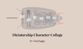 Copy of Dictatorship Character Collage