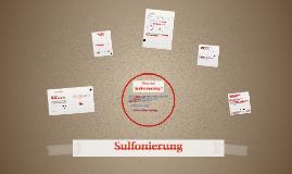 Sulfonierung
