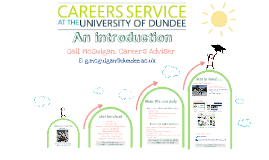 Intro to the Careers Service 1st Years