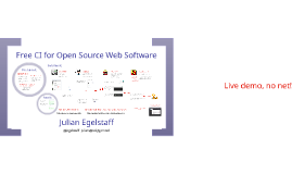 Free CI for Open Source Web Software