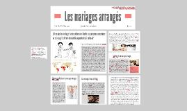LES MARRIAGES ARRANGÉS