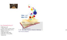 EDU 223 Literacy I