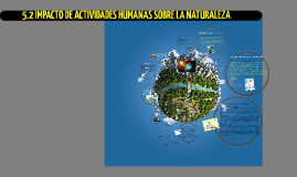 Impacto de Actividades Humanas en la Naturaleza -Cesar Hernandez