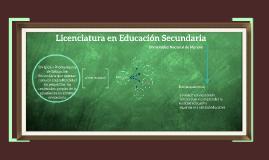 Licenciatura en Educación Secundaria - UNM