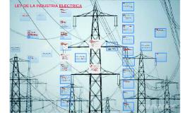LEY DE LA INDUSTRIA ELECTRICA