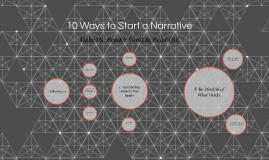 the narrative essay by jessica ingraham on prezi 10 ways to start a narrative