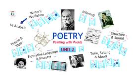 Unit 2- Poetry