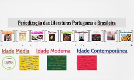 Periodização das Literaturas Portuguesa e Brasileira