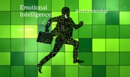 SSL: Emotional Intelligence and Leadership