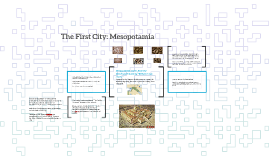The First City: Mesopotamia