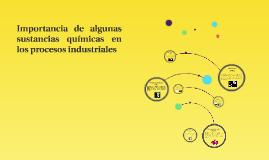 Copy of Importancia en los procesos industriales