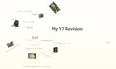 My Y7 Revision
