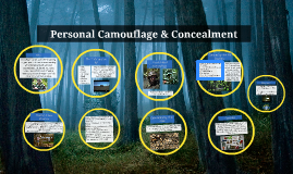 Personal Camouflage & Concealment