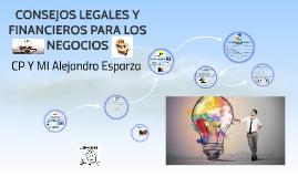 ASPECTOS LEGALES Y FINANCIEROS