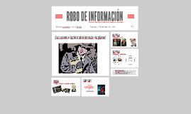 ROBO DE INFORMACIÓN