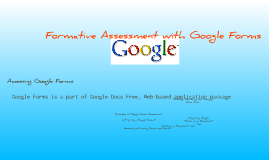 Formative Assessment with Google Forms