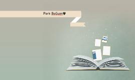 Park BoGum♥