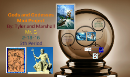Gods and Godesses Mini Project