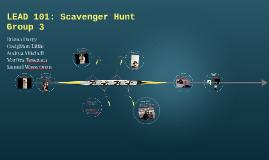 LEAD 101: Scavenger Hunt