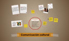 Copy of Comunicación cultural