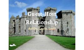 Guest host relationship essays