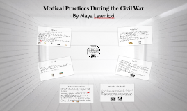 Medical Practices During the Civil War