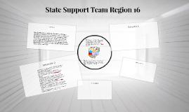 State Support Team Region 16