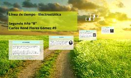 Copy of Línea de Tiempo - Electrostática