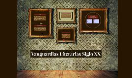 Vanguardias Literarias Siglo XX