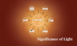Significance of Light
