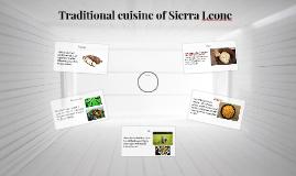 Traditional Sierra Leoniese cuisine