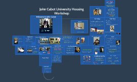 John Cabot University VT Apartments Housing Workshop