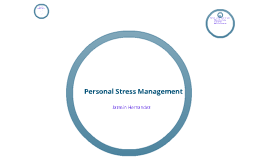 Personal Stress Management