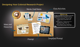Designing Your Colonial Research Project
