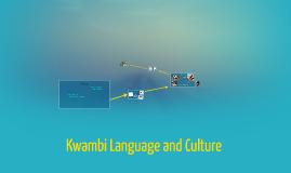 Kwambi Language