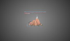Rocas igneas y sus lugares de formación