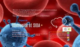 Copy of immunité et sida