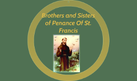 Brothers and Sisters of Penance