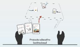 Que es un proyecto educativo instituciónal