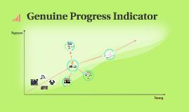 genuine progress indicator Developing the icelandic genuine progress indicator – accounting for the use of renewable energy sources when estimating icelandic gpi birgitta stefánsdóttir.