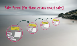 Sales Funnel [for those serious about sales]
