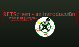 RETScreen Introduction