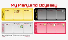 My Maryland Odyssey