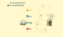 La economía en la constitución